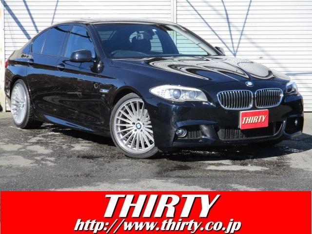 BMW 528i Mスポーツ 純ナビTV Bカメラ 黒革 サンルーフ