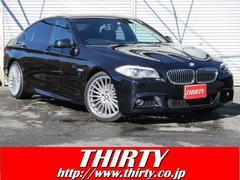 BMW528i Mスポーツ 純ナビTV Bカメラ 黒革 サンルーフ