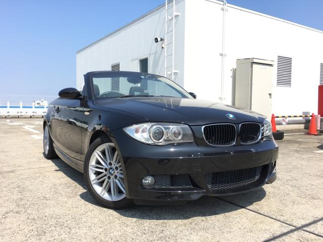 BMW 120iカブリオレ MスポーツPKG 幌綺麗 黒レザー