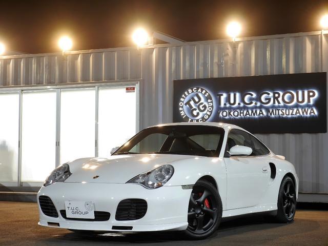 ポルシェ 911ターボ オールレザーインテ 黒革 6速MT 2年保証付