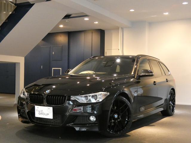 BMW 320iT Mスポ コンフォA 黒革 HDDナビ 2年保証
