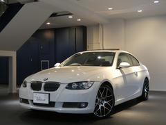 BMW335iクーペ コンフォA 黒革 SR HDDナビ 2年保証