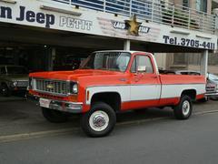 シボレー K10フリートサイドロングベッド 350V8 3速オートマ 4WD