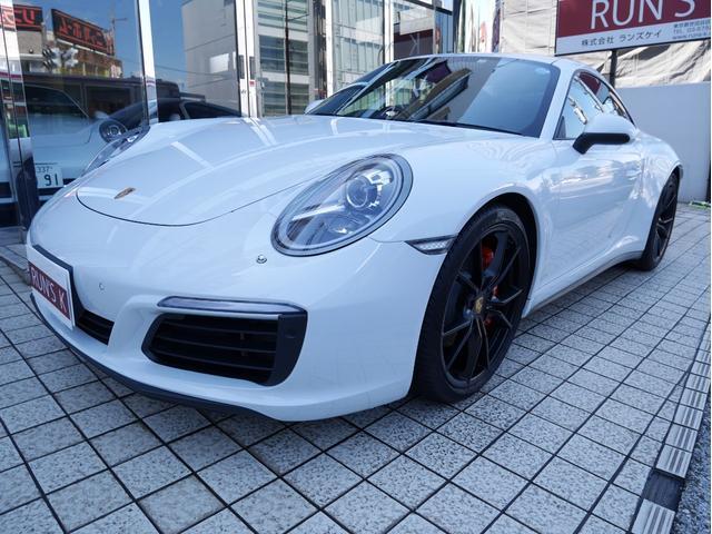 ポルシェ 911カレラ4 スポクロ GTステア 前後パーク&Bカメラ
