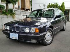 BMW525i ワンオーナー E34 左ハンドル キーレス