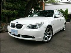 BMW525iハイラインパッケージ ETC DVDナビ 禁煙車