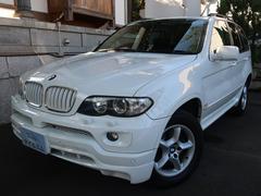 BMW X53.0i 4WD エアロPKG 禁煙車 屋内保管
