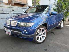 BMW X54.8is 4WD 左ハンドル 黒革 Bカメラ 禁煙車