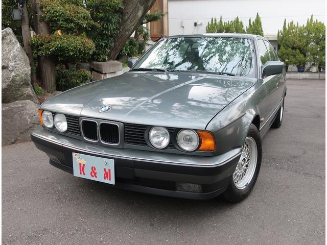 BMW 5シリーズ 535i左H ワンオーナー 走行3000km 記録簿 禁煙