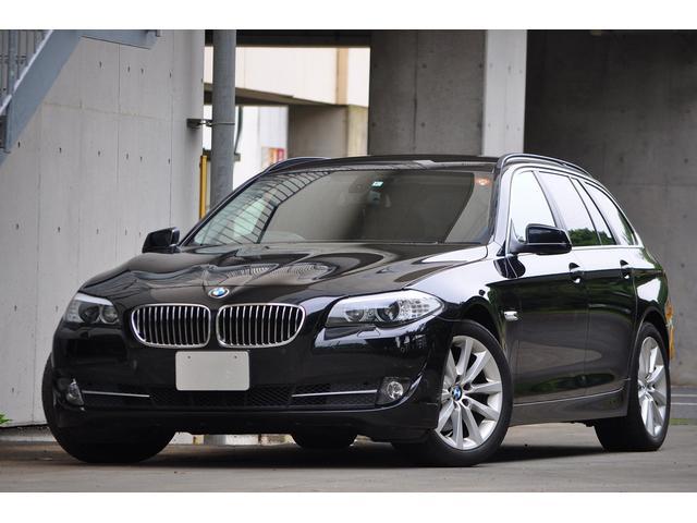 BMW 528iツーリングハイライン ナビ レザー 地デジ Bカメ