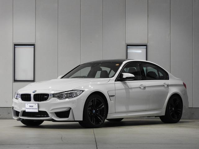 BMW M3 アダプティブMサス レザーシート 認定中古車
