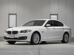 BMW523d ラグジュアリー レザーシート ACC 認定中古車