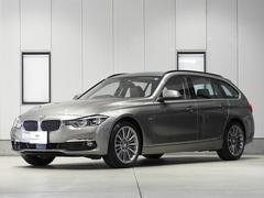 BMW320iツーリング ラグジュアリー ACC ブラウンレザー