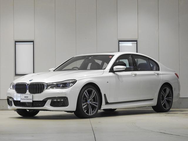 BMW 740d xDrive Mスポーツ リアエンターテインメント