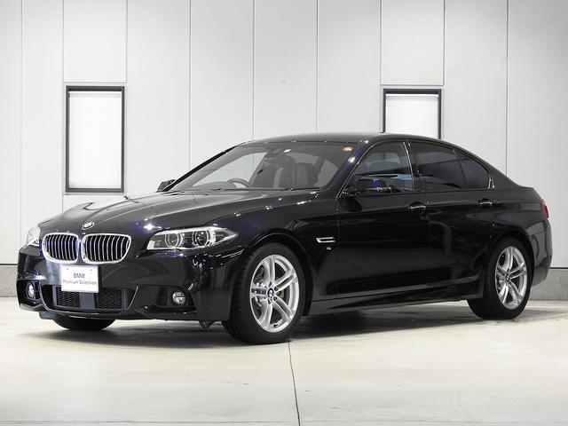 BMW 528i Mスポーツ 2年保証 レザーシート 前後シートヒーター 認定中古車