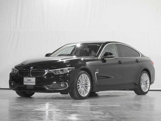 BMW 4シリーズ 420iグランクーペ ラグジュアリー CD リアカメラ レザーシート 電動シート シートヒーター 電動リアゲート ドライブレコーダー ACC 前後PDC 認定中古車