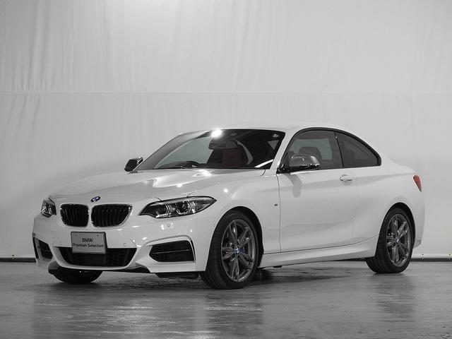 BMW M240iクーペ 2年保証 CD リアカメラ レザーシート 電動シート シートヒーター アクティブクルーズC ドライビングアシスト 前後センサー ワンオーナー 禁煙 認定中古車