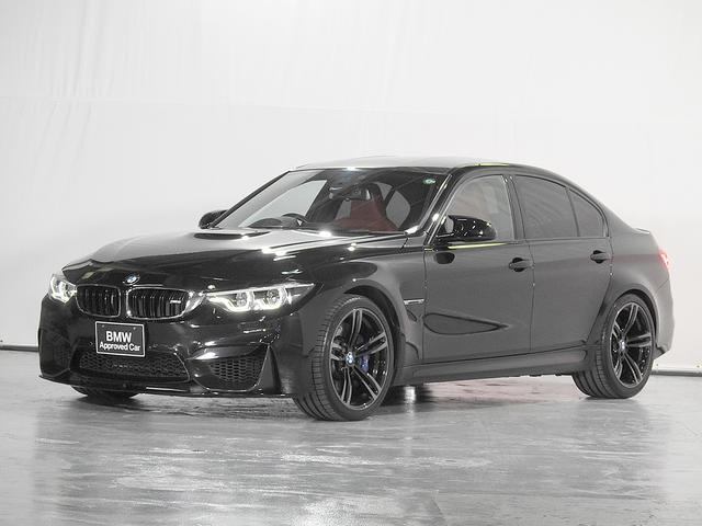 M3セダン(BMW)M3 HDDナビ 地デジ リアカメラ サキールオレンジレザーシート シートヒーター ヘッドアップディスプレイ ドライビングアシスト 前後センサー カーボンルーフ 19AW 1オーナー 禁煙 認定中古車 中古車画像