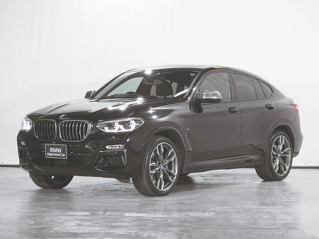 BMW X4 M40i HDDナビ 地デジ 全周囲カメラ 革シート 21AW 前後シートヒーター ヘッドアップディスプレイ 電動リアゲート 駐車アシスト サンルーフ ACC アダプティブLED ドライビングアシスト 禁煙