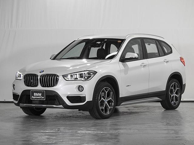 BMW sDrive 18i xライン HDDナビ クロス&レザーシート 電動リアゲート CD リアカメラ 前後ドライブレコーダー&センサー ドライビングアシスト LED 18インチAW ワンオーナー 禁煙車 認定中古車