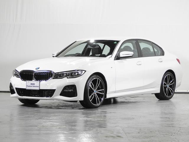 BMW 3シリーズ 320d xDrive Mスポーツ HDDナビ 電動レザーシート 19インチAW ACC 電動リアゲート ワイヤレス充電 ドライビングアシスト 駐車アシスト シートヒーター グレーウッドトリム 禁煙 認定中古車