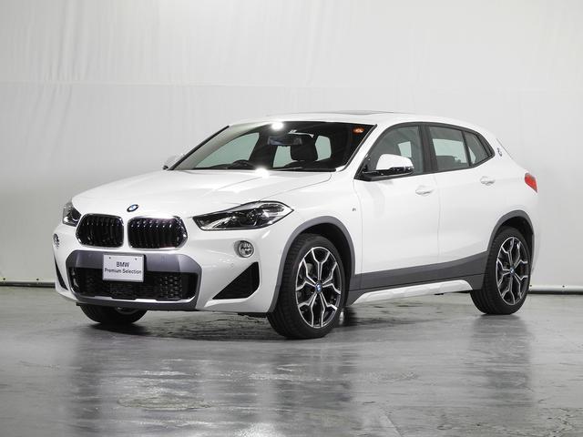 BMW sDrive 18i MスポーツX HDDナビ 電動レザーシート サンルーフ リアカメラ 前後センサー 電動リアゲート ドライビングアシスト シートヒーター コンフォートアクセス LED 19インチAW 禁煙 認定中古車