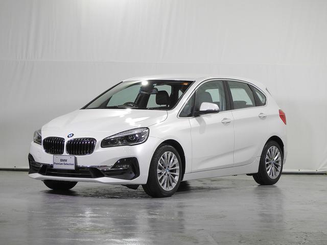 BMW 218dアクティブツアラー ラグジュアリー HDDナビ 電動革シート 電動リアゲート アクティブクルーズC ヘッドアップD リアカメラ 前後センサー 駐車アシスト シートヒーター LED 禁煙 認定中古車