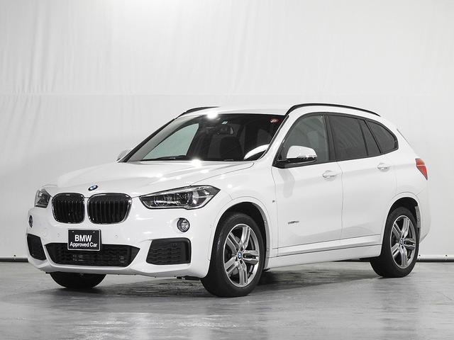 BMW X1 sDrive 18i Mスポーツ CD HDDナビ リアカメラ 前後センサー スポーツシート ドライビングアシスト 駐車アシスト LED コンフォートアクセス 18インチAW ルーフレール 認定中古車