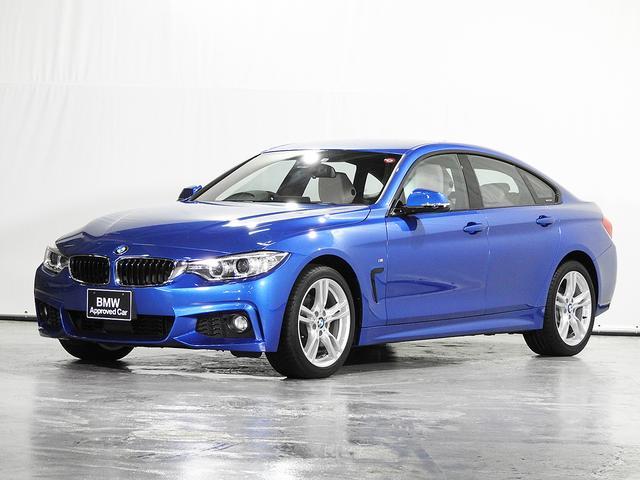 BMW 4シリーズ 420i xDriveグランクーペ Mスポーツ CD HDDナビ 電動革シート シートヒーター リアカメラ&センサー アクティブクルーズC 18インチAW コンフォートアクセス 1オーナー ウッドトリム キセノン 認定中古車