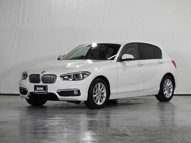 BMW 1シリーズ 118i スタイル CD HDDナビ リアカメラ&センサー サーボトロニック ドライビングアシスト ドライブレコーダー コンフォートアクセス ハーフレザーシート LED 16インチAW クルーズコントロール 認定中古車