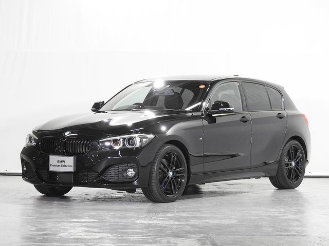BMW 118d Mスポーツ エディションシャドー 電動革スポーツシート シートヒーター HDDナビ リアカメラ&前後センサー ACC ドライビングアシスト サーボトロニック 18AW 1オーナー 禁煙 LED 認定中古車