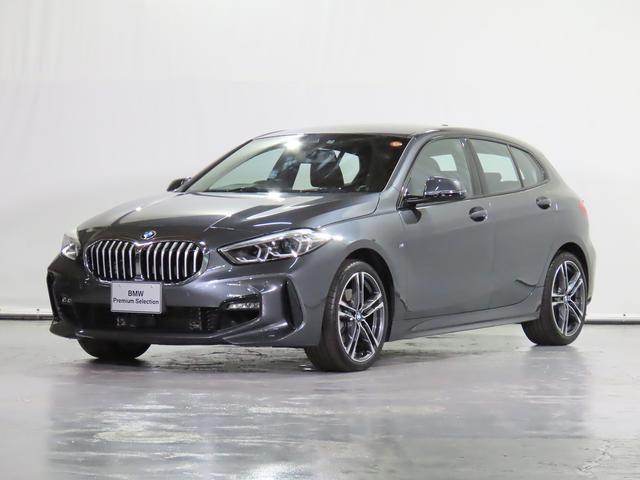 BMW 118i Mスポーツ ACC 電動リアゲート 電動スポーツシート HDDナビ リアカメラ 前後センサー ドライビングアシスト 駐車アシスト ワイヤレス充電 1オーナー 18inAW 認定中古車