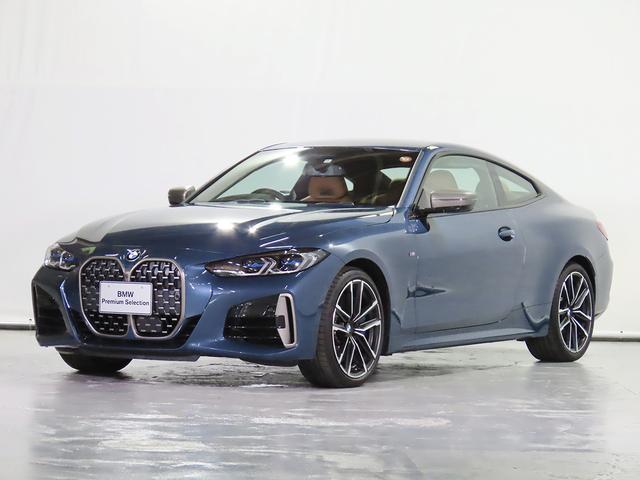 BMW 4シリーズ M440i xDriveクーペ 電動革シート Fシートランバーサポート Fシートヒーター 電動リアゲート ジェスチャーコントロール 地デジ HUD Mスポーツブレーキ レーザーライト 認定中古車