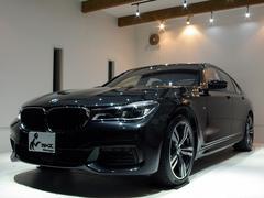 BMW740d xDriveMスポーツ黒革4WD禁煙 新車保証継承