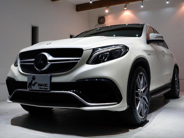 メルセデスAMG GLE63 S 4マチック クーペ1オーナー禁煙車 新車保証