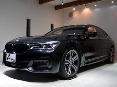 BMW750i Mスポーツ 黒革 1オーナー車 純正ドラレコ付き