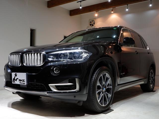 BMW X5 xDrive 35i xライン 1オーナー車 7人乗り セレクトパッケージ フルタイム4WD パノラマルーフ 黒革シート シートヒーター アクティブクルーズコントロール インテリジェントセーフティ LEDヘッドライト 純正ナビTV