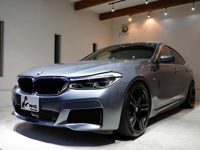 BMW 6シリーズ 640i xDrive グランツーリスモ Mスポーツ 正規ディーラー車 ブルーストーン ベージュ革 純ナビ リアエンターテイメント コンフォートアクセス ACC パノラマルーフ Bowers&Wilkins LED 純正20AW コーティング施工済み