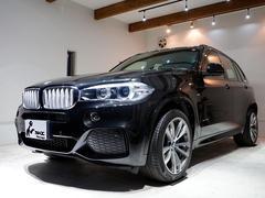 X5xDrive 50i Mスポーツ 正規ディーラー車 実走行15975km 1オーナー ブラックサファイア 黒革シート 右ハンドル 純正ナビ(iDrive) ETC ヘッドアップディスプレイ ACC パノラマルーフ PDC 純正20AW