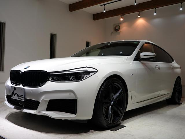 BMW 6シリーズ 640i xDrive グランツーリスモ Mスポーツ 正規ディーラー車 クロ革 右H 純正HDDナビ 前後シートヒーター ベンチレーション ヘッドアップディスプレイ ACC パノラマルーフ アクティブスポイラー サラウンドビュー シートマッサージ