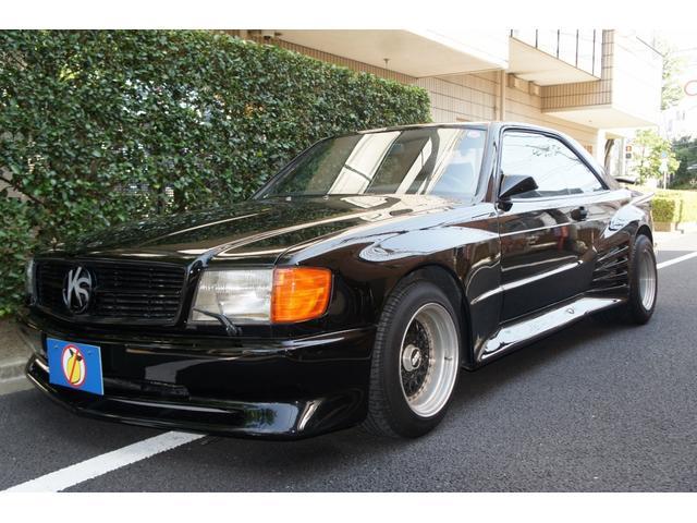メルセデス・ベンツ 560SEC ケーニッヒver1エアロ BBS15AW