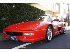 フェラーリ 355F1ベルリネッタ ディーラー車 左ハンドル 記録簿 革シート
