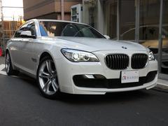 BMW740i Mスポーツ 左H 黒レザー