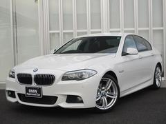 BMW523dMスポーツ 19インチアルミ ウッドパネル