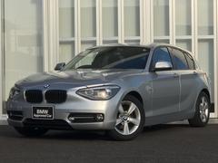 BMW116iスポーツ 地デジ付社外ナビ フイルム ワンオーナー