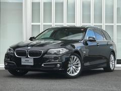 BMW523iツーリングラグジュアリー オイスターレザー ACC