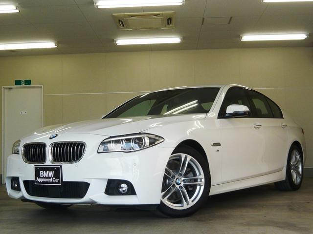 BMW 528iMスポーツ 左ハンドル LEDライト ACC 黒革