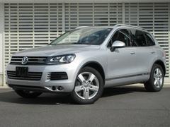 VW トゥアレグハイブリッド 黒レザー ACC 地デジ付ナビ 全周囲カメラ