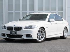 BMW523i Mスポーツハイライン 黒革 ウッドP 1オナ禁煙