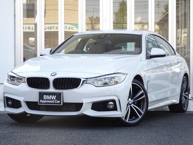 BMW 4シリーズ 420iグランクーペ イン スタイル 特別仕様車 サドルブラウンレザーシート アダプティブLEDヘッドライト ヘッドアップディスプレイ 19インチアルミ レーンチェンジウォーニング ACC ステンレスペダル HDDナビ  バックカメラ
